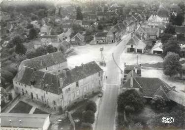 """CPSM FRANCE 36 """"Saint Benoit de Sault, le champ de Foire"""""""