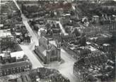 """59 Nord CPSM FRANCE 59 """"Roubaix, vue aérienne, l'église Saint Jean Baptiste"""""""
