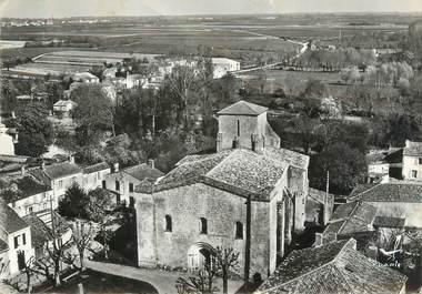 """CPSM FRANCE 17 """"Saint Sauveur d'Aunis, l'église"""""""