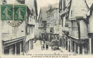 """53 Mayenne CPA FRANCE 53 """"Laval, la grande rue bordée de maisons en bois du XVè siècle"""""""