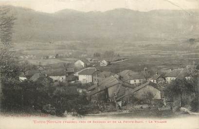 "CPA FRANCE 88 ""Vieux moulin, le village"""