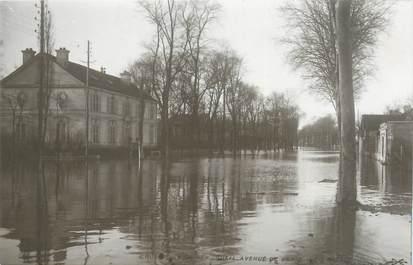 """CPA FRANCE 75 """"Paris Inondation 1910, Rueil, avenue de Paris"""" / Ed. ELECTROPHOT"""