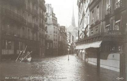 "CPA FRANCE 75 ""Paris Inondation 1910, place Maubert"" / Ed. ELECTROPHOT"