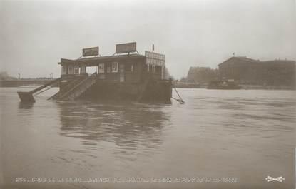 """CPA FRANCE 75 """"Paris Inondation 1910, la Seine au pont de la Concorde"""" / Ed. ELECTROPHOT"""