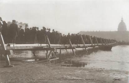 "CPA FRANCE 75 ""Paris Inondation 1910, l'esplanade des invalides"" / Ed. ELECTROPHOT"