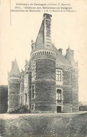 """CPA FRANCE 35 """"Château des Métairies en Guignen"""""""