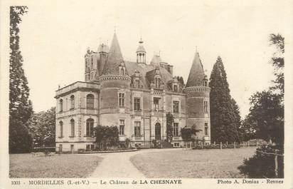 """CPA FRANCE 35 """"Mordelles, le château de la Chesnaye"""""""