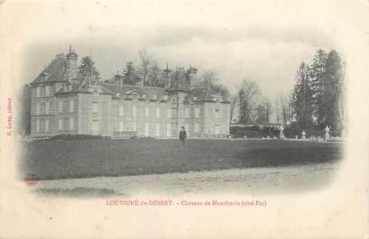 """CPA FRANCE 35 """"Louvigné du Désert, château de Monthorin"""""""