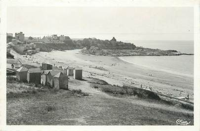 """CPSM FRANCE 35 """"Rotheneuf, plage di Val, pointe du Nicet"""""""