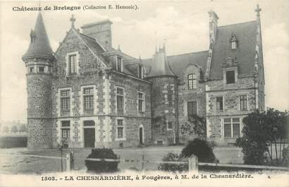 """CPA FRANCE 35 """"La Chesnardière à Fougères"""""""