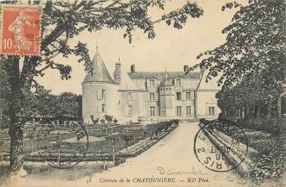 """CPA FRANCE 35 """"Château de la Chatonnière"""""""
