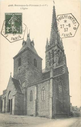 """CPA FRANCE 35 """"Bazouges la Péreuse, l'église"""""""