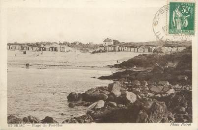 """CPA FRANCE 35 """"Saint Briac, plage du Port Hue """""""