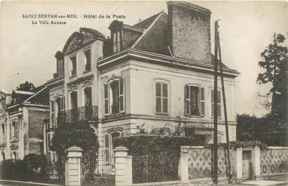 """CPA FRANCE 35 """"Saint Servan sur Mer, hôtel de la poste"""""""