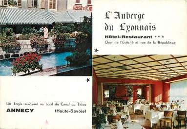 """/ CPSM FRANCE 74 """"Annecy, l'auberge du Lyonnais"""""""