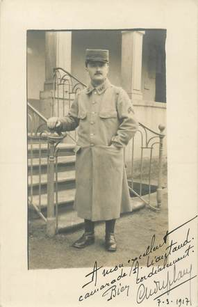CARTE PHOTO MILITAIRE