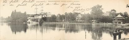 """CPA PANORAMIQUE FRANCE 95 """"Enghiens les Bains, panorama du casino et des jardins"""""""