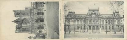 """CPA LIVRET FRANCE 69 """"Lyon, cathédrale Saint Jean et la préfecture"""""""