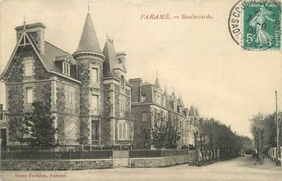 """CPA FRANCE 35 """"Paramé, boulevards"""""""
