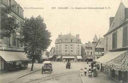 """CPA FRANCE 35 """"Paramé, le boulevard Châteaubriand"""""""