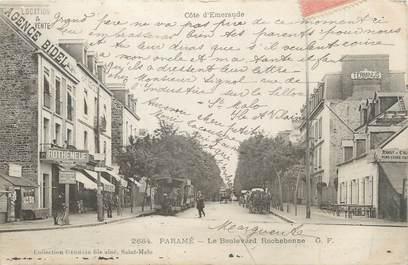 """CPA FRANCE 35 """"Paramé, le boulevard Rochebonne"""""""