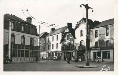 """CPSM FRANCE 35 """"Paramé, place de la mairie et les hôtels"""""""