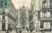 """35 Ille Et Vilaine CPA FRANCE 35 """"Rennes, église Saint Aubin"""""""