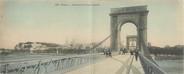 """84 Vaucluse CPA PANORAMIQUE FRANCE 84 """"Avignon, perspective du pont suspendu"""""""