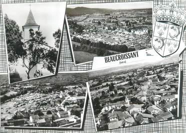 """CPSM FRANCE 38 """"Beaucroissant, vue du bourg"""""""