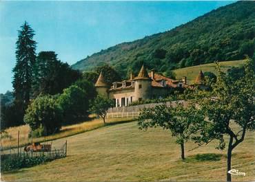 """CPSM FRANCE 38 """"La Murette, le château de la Rondière"""""""