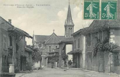 """CPA FRANCE 38 """"Parménie, rue de l'église"""""""