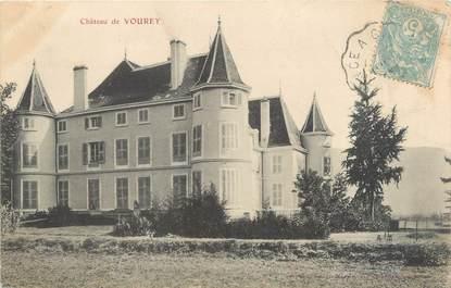"""CPA FRANCE 38 """"Château de Vourey """""""