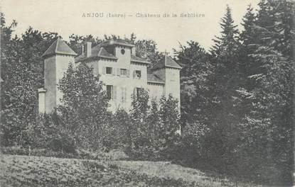 """CPA FRANCE 38 """"Anjou, château de la Sablière """""""