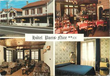 "CPSM FRANCE 38 ""Chanas, hôtel Paris Nice"""