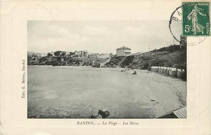 "CPA FRANCE 83 ""Bandol, la plage"""