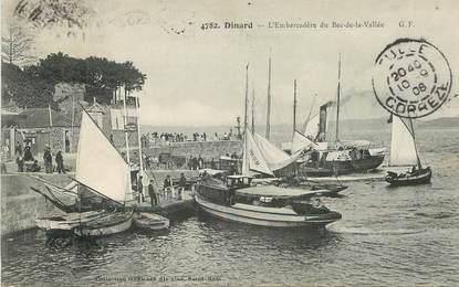 "CPA FRANCE 35 ""Dinard, l'embarcadère du Bec de la Vallée"""