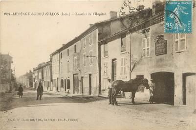 """CPA FRANCE 38 """"Le Péage du Roussillon, quartier de l'hôpital"""""""