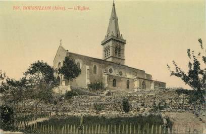 """CPA FRANCE 38 """"Roussillon, l'église"""""""