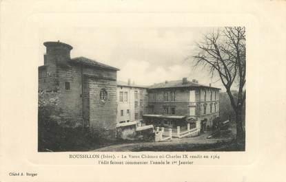 """CPA FRANCE 38 """"Roussillon, le vieux château"""""""