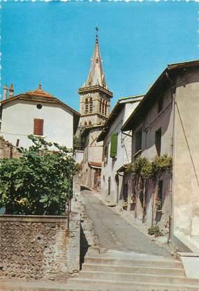 """CPSM FRANCE 38 """"Roussillon, l'église"""""""