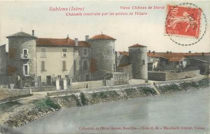 """CPA FRANCE 38 """"Sablons, vieux Château de Murat """""""