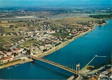 """CPSM FRANCE 38 """"Sablons, le pont sur le Rhône entre Serrières et Sablons"""""""