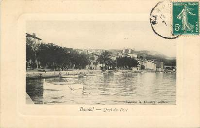 "CPA FRANCE 83 ""Bandol, Quai du Port"""