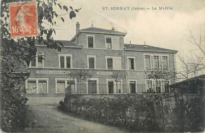 "CPA FRANCE 38 ""Sonnay, la mairie"""