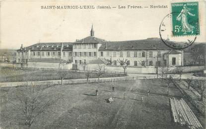 """CPA FRANCE 38 """"Saint Maurice l'Exil, les frères, Noviciat"""""""