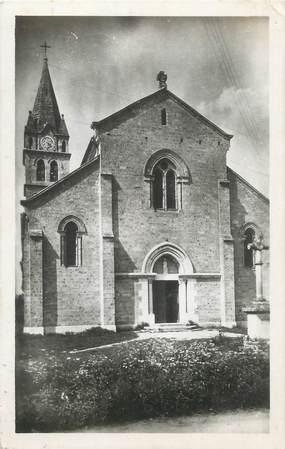 """CPSM FRANCE 38 """"Brezins, église de Brézins le Haut"""""""