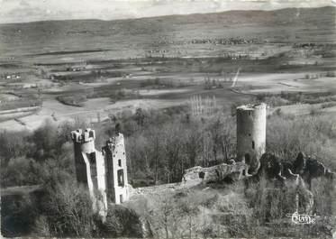 """CPSM FRANCE 38 """"Bressieux, les ruines du château"""""""