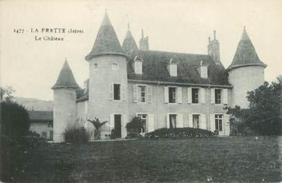 """CPA FRANCE 38 """"La Frette, le château """""""