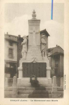"CPA FRANCE 42 ""Violay, le monument aux morts"""