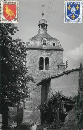 """CPSM FRANCE 42 """"Saint Germain Laval, ancienne église de la Madeleine"""""""